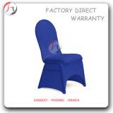 Housse de chaise d'hôtel spandex décoratif blanc (YT-26)