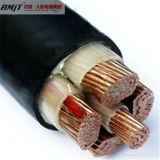 낮은 전압 구리 코어 PVC에 의하여 격리되는 전력 케이블 0.6/1kv