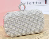 Bolso lleno de lujo de Cultch de la tarde del diamante del nuevo bolso del diseñador (XW717)