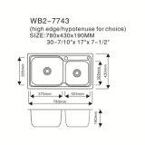 Alto articolo da cucina di certificazione di Cupc di quantità del modello Wb2-7743