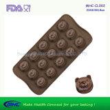 [فدا] [لفغب] دب شكل [سلكن] شوكولاطة يجعل قالب