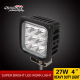 "4 "" 27W 크리 말 High Output IP68 Square LED Work Light"