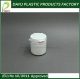 medizinische Plastikflasche der Kapsel-50ml und der Pille mit Kippen-Oberseite-Schutzkappe