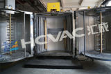 Vacío automotor plástico del cromo de las piezas que metaliza la máquina, sistema de capa de la farfulla del magnetrón