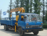 12 toneladas de grúas montadas carro