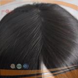 Pleine perruque de bonne qualité de lacet de Hantied de cheveux humains pour des femmes