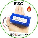 Bateria recarregável de lítio de 18650 10400mAh em Shenzhen