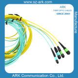 Cavalier de fibre optique de connexion de MPO