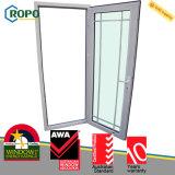 UPVC/Pvcu projeto vitrificado dobro de Windows e das portas para a casa