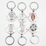 Сплав Rotatable Football Keyring для Promotion Gift (KR)