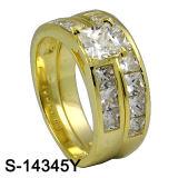 925 순은 결혼 반지 형식 보석 (S-14345. 도트 JPG, S-14345Y. JPG)