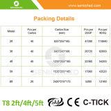 Migliore prezzo fluorescente dell'indicatore luminoso del tubo del rimontaggio di T8 LED