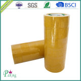36 Rolls par carton Brown/bande de empaquetage adhésive de Tan BOPP