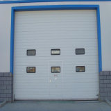 安全に自動部門別の企業のガレージのドアの産業オーバーヘッドドア(HF-003)
