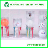 Golfball Plastic Tube Packaging mit Custom Printing