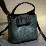 2016년 이탈리아 새로운 디자인 혼합 색깔 뱀 피부 핸드백 Emg4725
