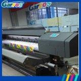 Dx5印刷ヘッド印刷の屈曲の旗プリンターが付いているGarros Ecoの支払能力があるプリンター