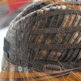 Parrucca superiore di seta sradicante scura europea delle donne dei capelli umani