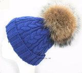 Form kundenspezifische gestrickte Beanie-weiche Dame Hat