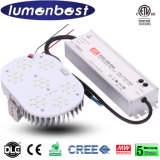 Modification légère élevée 100W du CREE LED Wallpack LED de Volatge 347-480V