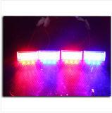 12LEDs grelle Warnleuchte des Auto-LED, 12V 3LED*4 Auto-warnendes Röhrenblitz-Licht