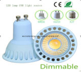 Ce e Rhos Dimmable GU10 3W COB LED Light