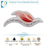 Изготовленный на заказ напечатанный логосом Pin отворотом металла с эпоксидной смолой (JN-B47)