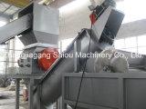 Überschüssiger Plastik, der pp. gesponnene Beutel-Waschmaschine aufbereitet
