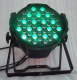 54PCS RGB LED 정면 빛 주조 알루미늄 동위 빛