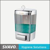 Liquid manuale Soap Dispenser con Transparent Tank (V-7101)