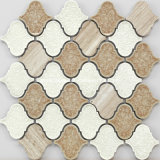2016 manera Style Ice Crackle Ceramic Mosaic con Marble