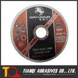 ' disco abrasivo da estaca 5 para o metal 125X1.6X22.2