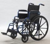 [بورتبل] فولاذ وظيفيّة يدويّة نقل كرسيّ ذو عجلات, طيّ ومريحة ([يج-005غ])