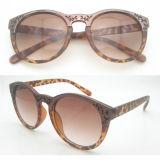 Gafas de sol vendedoras calientes del marco Plastic&Tr90