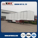 2/3 acoplado superventas Enclosed Container Van Cargo Semi de los árboles