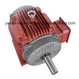 Individu équilibrant le générateur électrique de moteur magnétique portatif
