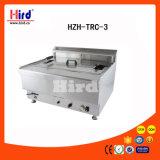 Máquina de la hornada del equipo del hotel del equipo de la cocina de la máquina del alimento del equipo del abastecimiento del Bbq del equipo de la panadería del Ce del tanque de la válvula de la sartén del gas (Hzh-Trc-3) sola