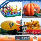 Las telas de poliéster populares para el modelo inflable