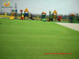 Künstliches Grass Kids Friendly für Kindergarten Palyground mit Cute Pattern