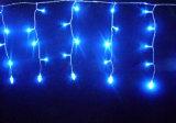 LED-Solarvorhang-Licht als Weihnachtsdekoration