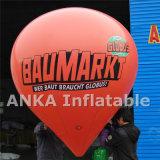 Globo inflable del globo del globo del helio para exhibición de la publicidad