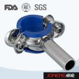Acero inoxidable de grado alimenticio abrazadera de tubo con manga azul (JN-PL2002)