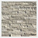 Mattonelle della pietra della coltura del marmo e del granito per il rivestimento della parete