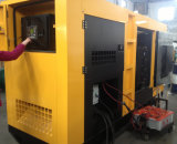 Sistema de generador diesel de poco ruido de la fuente de alimentación con el pabellón insonoro