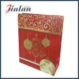La serie de la Feliz Navidad empaquetan el bolso imprimido barato de encargo del papel