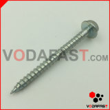 Hex Flange Head Wood Screw mit Cutted Point