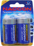 Batterie de zinc de carbone de Naccon D R20