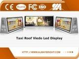 Cor cheia ao ar livre P5 de indicador de diodo emissor de luz do táxi da venda quente de Abt com o controlador de 3G 4G WiFi para anunciar