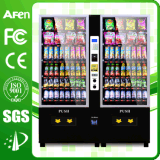 Sale Factory Direct Selling에 Most Popular Type Combo Snack Vending Machine