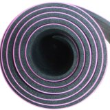 High Class PU Leather Top Nature Rubber Yoga Mat
